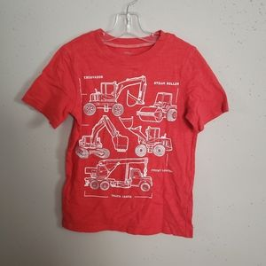 Carter's Red Shirt Boys  Size 6  Short Sleeves.